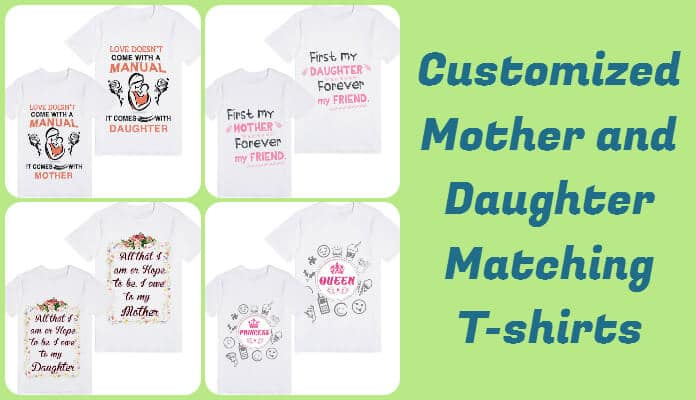 Mother Daughter T-shirts, Mom Daughter Tees India