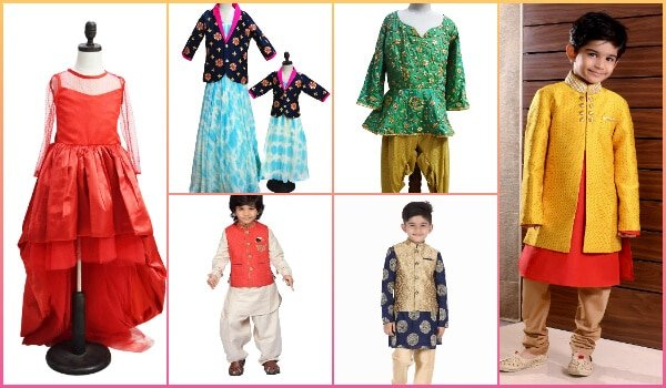 Kids Ethnic Wear Traditional Dress Delivered Bangalore