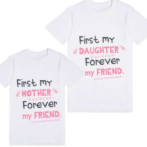 Adorable Customized Mother and Daughter Matching T-shirts ...
