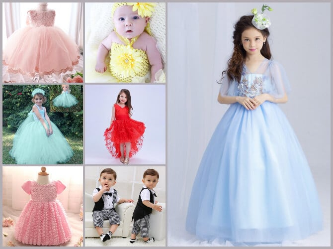 Kids Birthday Dresses Chennai, special occasion Clothes