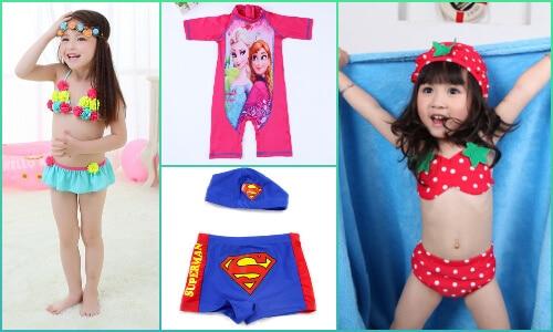 Kids Beachwear and Swimwear, baby Swimsuits in Bengaluru