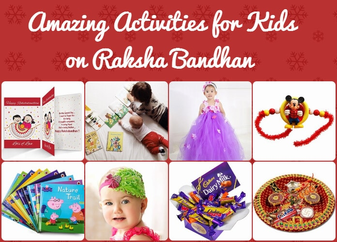 Kids Exciting Activities And Gifts Raksha Bandhan