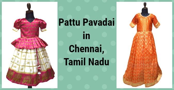 Buy Pattu Pavadai in Chennai, Tamil Nadu