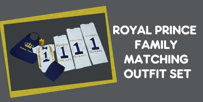 Royal Family Shirts, King Queen Prince Princess Outfit