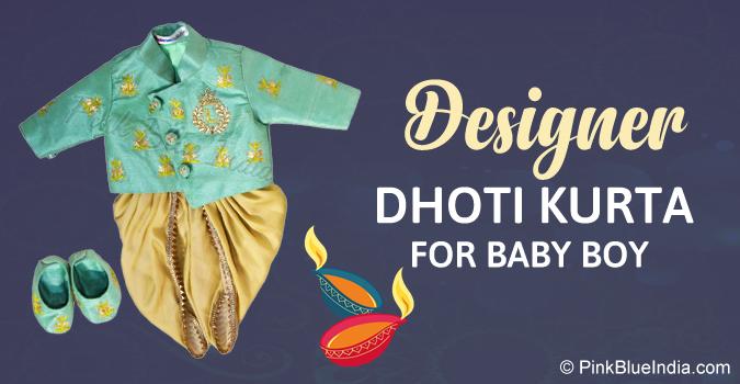 Baby Boy Dhoti Kurta Diwali Bhai Dooj