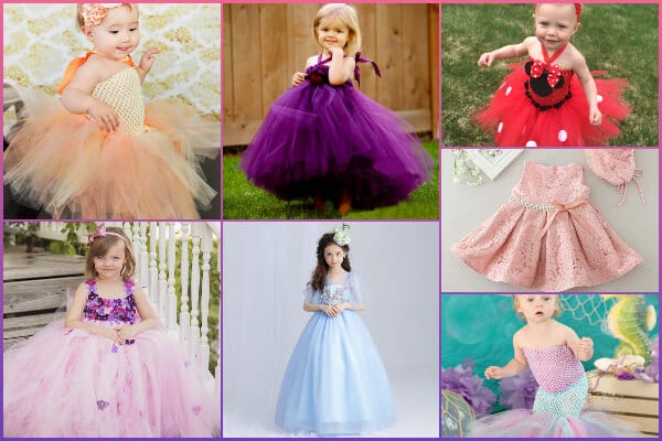 Baby First Birthday Dresses and Long Gowns in Jaipur