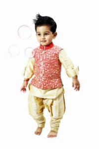 Children Jodhpuri Breeches Kurta Sets wear diwali