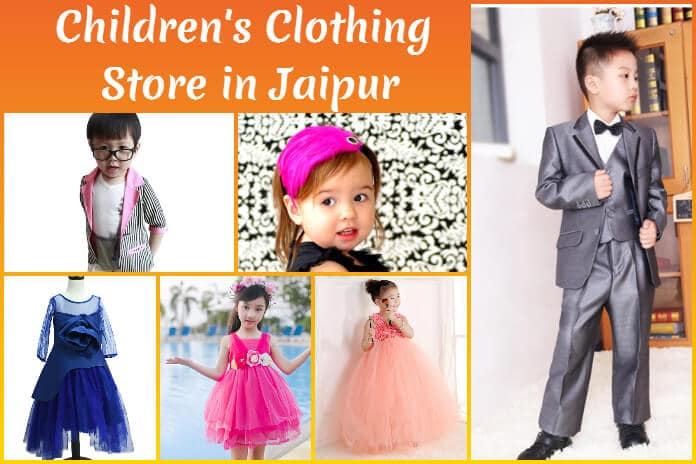 Children Clothing Store in Jaipur - Kids Party Dresses, Accessories