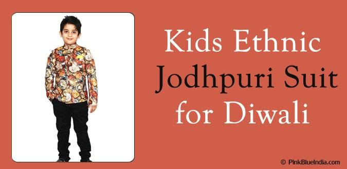 Diwali Kids Ethnic Jodhpuri Suit