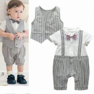 Little Boys Waistcoats Suit