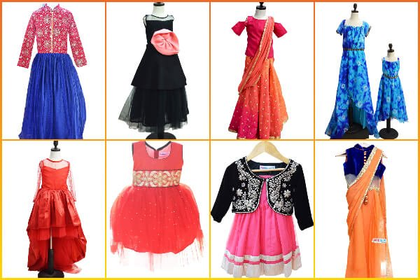 Designer Luxury Childrens Custom Made Clothes Jaipur