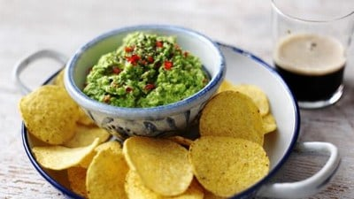 Nachos with Dips Baby Shower Food Recipe