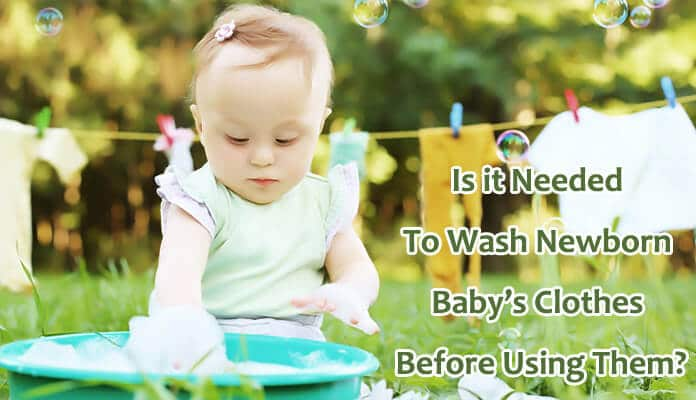 Wash Newborn Baby Clothes Before Using