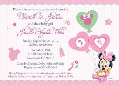 baby shower Templates for Invitations