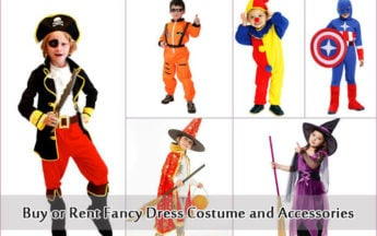 Buy Online or Rent Fancy Dress Competition Costume and Accessories for Children in India