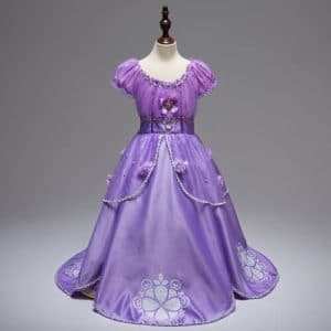 Disney Princess Sofia the Birthday Dress Costume, Sofia Baby Girl Gown