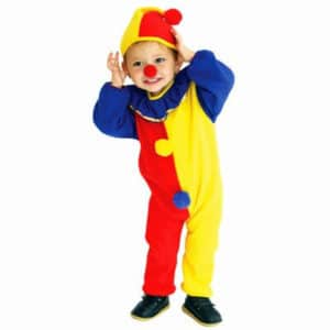 Kids Circus Clown and Joker Halloween Costume