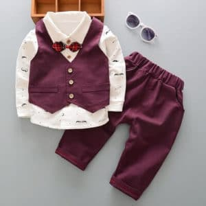 Kids, Toddler Boys 4-Piece First Birthday Formal Outfit