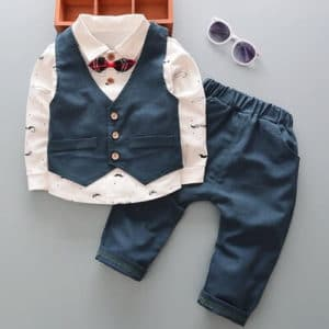 Beautiful Little Boys Ring Bearer Suit Outfit - Kids party wear dress