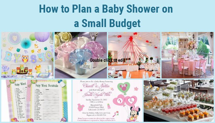 Planning Baby Shower Small Budget