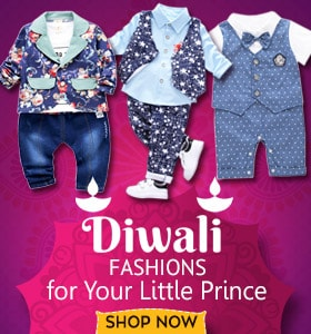 diwali dress for baby boy - diwali baby clothes