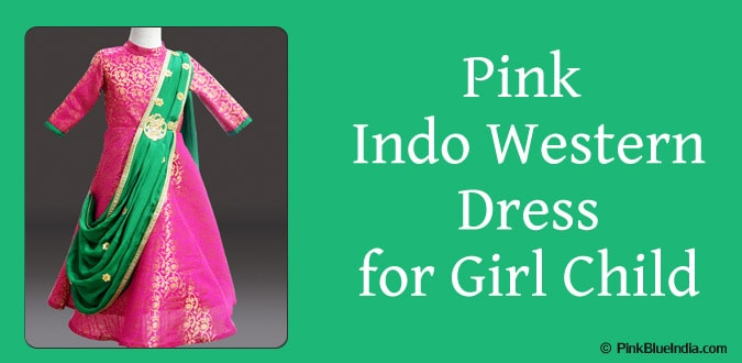 Indo Western Dress for Girl Child