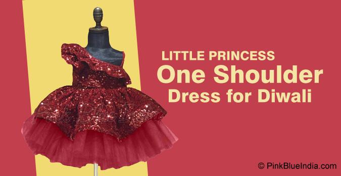 Little Princess One Shoulder Dress