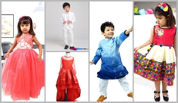 Childrens Mehendi Clothes, baby Mehendi wear, girls dress