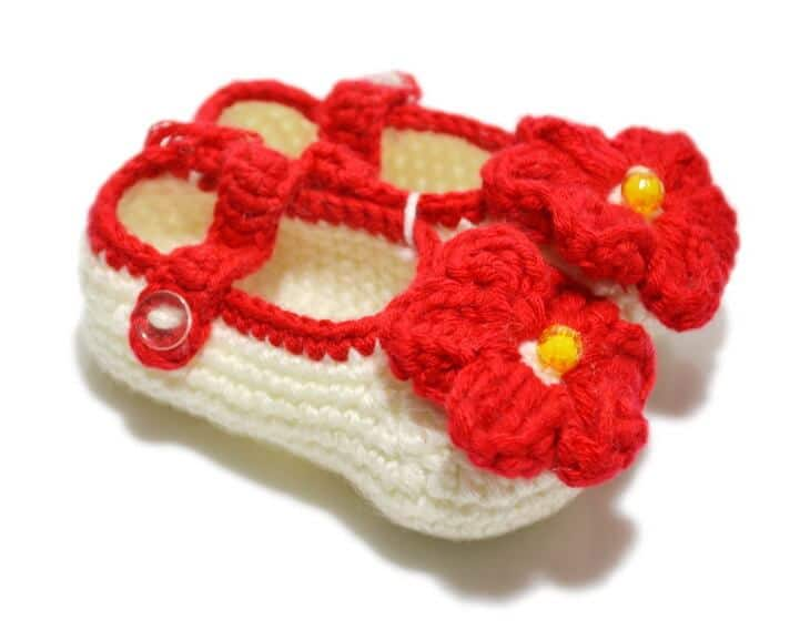 Crochet Baby Booties For Beginners Perfect Last Minute Baby Shower
