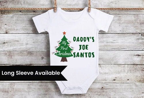 Christmas Onesie Newborn Customized Christmas baby outfit