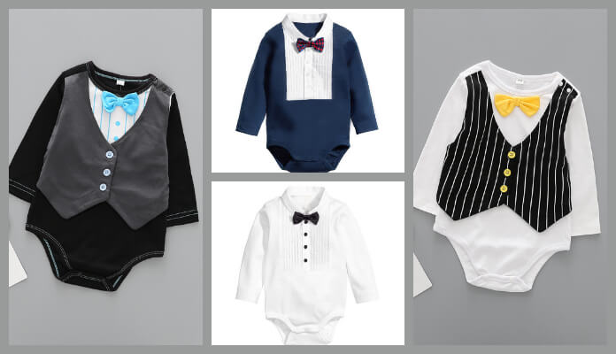 Buy boys rompers, onesies for Newborn baby, toddlers and kids, Cute baby romper clothes India