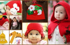 Glamorous Touch to the Kids in Winter with Baby Hats and Scarves