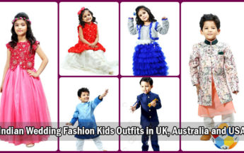 Indian Wedding Fashion Kids Outfits at Your Fingertips in UK, Australia and USA