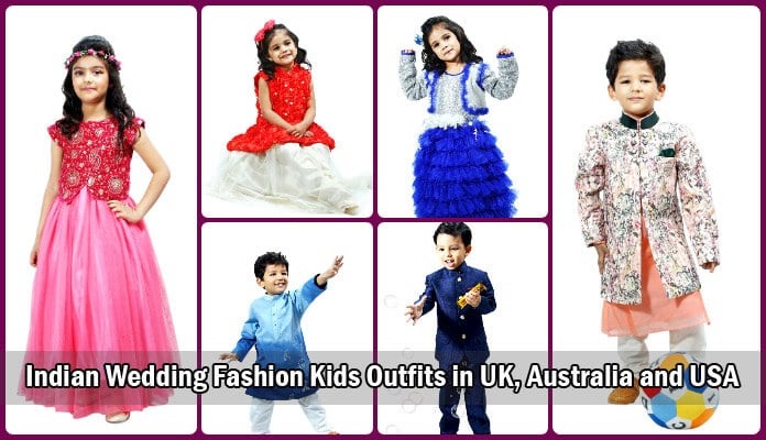 Indian Wedding Fashion Kids Outfits, Baby Girl Clothes UK, Australia and USA