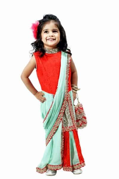 Ready to Wear Baby Saree Dresses