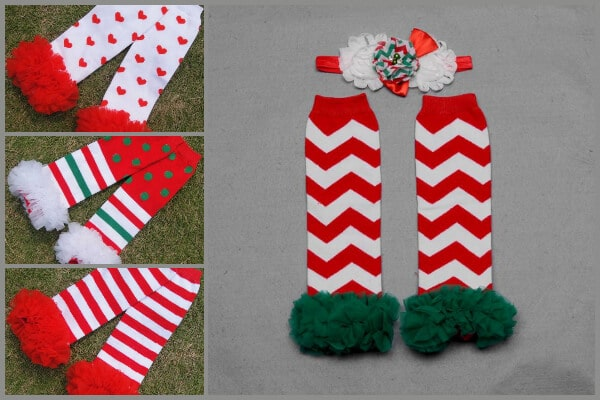 Baby and Toddler Unique Christmas Leg Warmers
