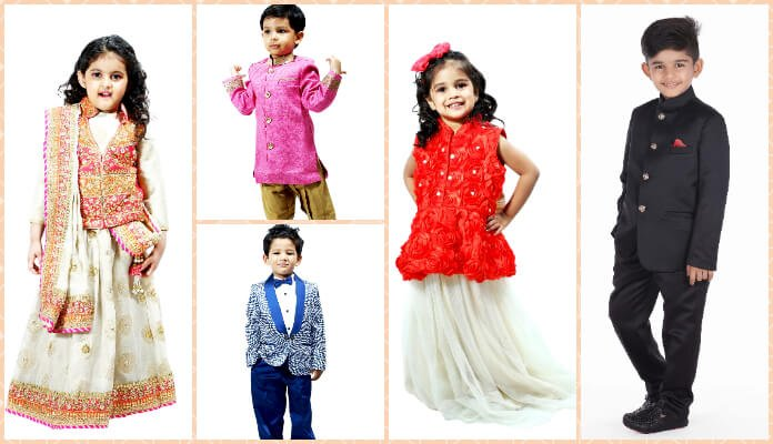 Winter Wedding Flower Girl Dresses, Baby boy Clothes, Indian wear