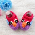 Newborn Crochet Owl Booties, Baby Booties online India