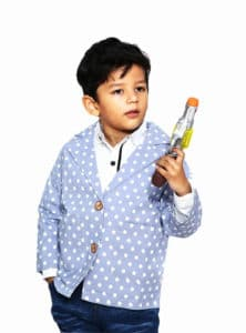Smart Casual Jacket Boys Purple Polka Dot Blazer Kids Boy coat