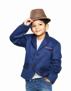 Children's Party Wear Blazer Jacket, Navy Blue Party wear Coat online Buy