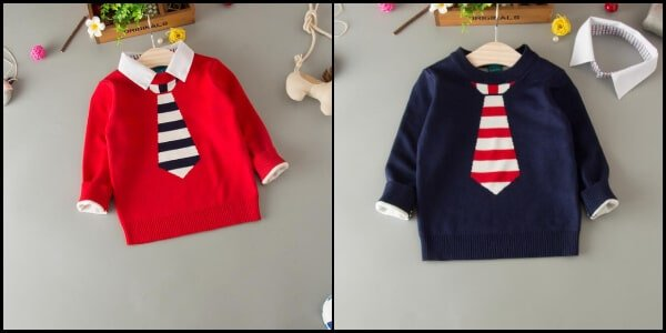 Kids Boy Sweater and Cardigans, Baby Woolen Sweater India