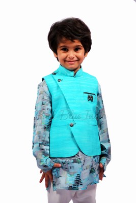 Boys Kurta Pajama With Jacket | Latest Party Wear | New Trend Sherwani Style
