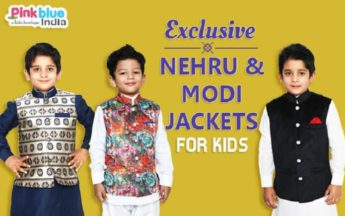 Sleeveless Nehru/Modi Style Jacket with Kurta | Nehru Jackets Kids