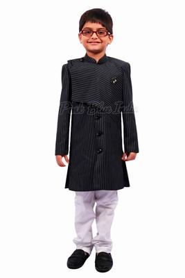 Boys Indian Wedding Achkan - Kids ethnic wear
