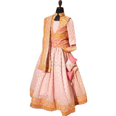 Designer Kids Lehenga - Children Lehenga for Indian Wedding and Party Wear