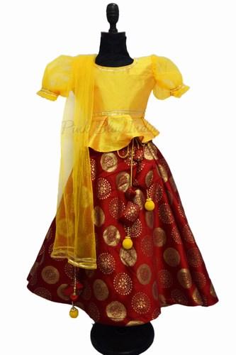 Indian Baby Girl Lehenga - Kids Party Lehenga Online