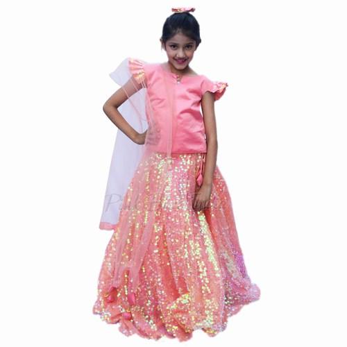 Indian Wedding Baby Girl Lehenga