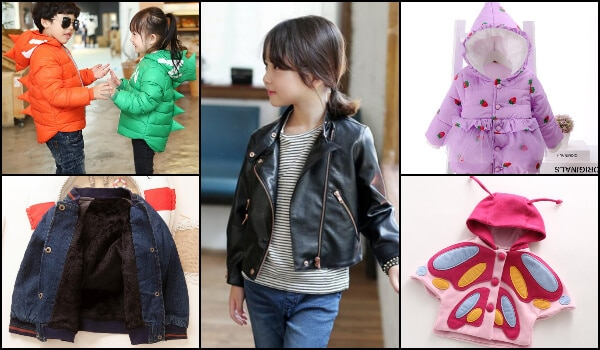 Kids Winter Coats, Woolen Jackets Boys and Girls , Clothes