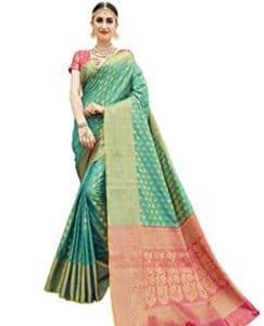 Woven Banarasi Silk Saree, Traditional Banarasi Sarees