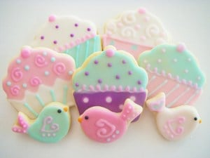 Colorful Baby Theme Cookies Baby Shower Favor Boys